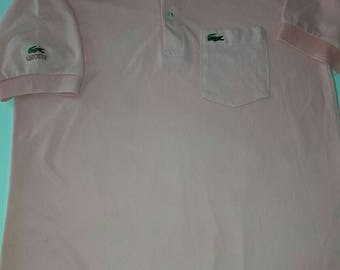 LACOSTE Polos (pink) Size: XL