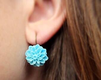 Dahlia Stud Earrings