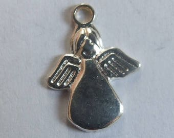 17 x 12 mm silver plated Angel charm
