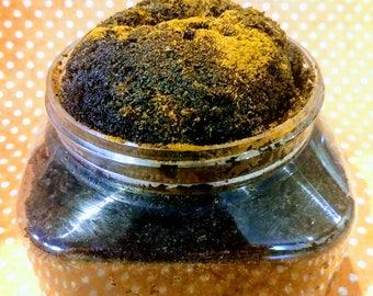 6oz Cinnamon and coffee sugar scrub, body scrub, hand scrub, skin exfoliate, natural body scrub, beauty, anti aging, skincare, moisturizing