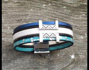 Blue Lagoon bracelet