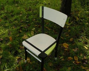 vintage look way Mondrian 4 chairs