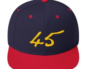 45 Snapback Hat