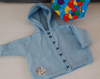 Coat-bomber for baby size 6 months