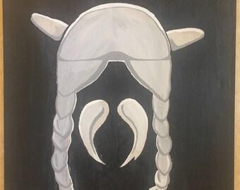 Table Gallic helmet
