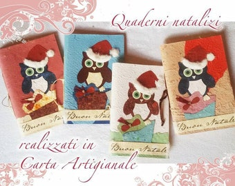 Christmas notebook paper craft