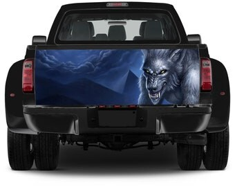 Truck Tailgate Graphics Werewolf Nightmare Vinyl Decal Color Sticker Trunk Wrap