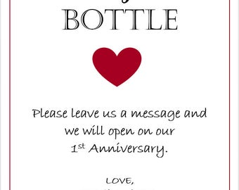Message in a Bottle!