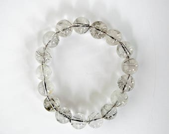 Clear Abstract Bracelet