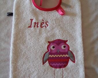 TO order: Large (23 * 30 cm) baby bib