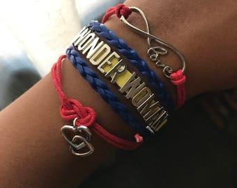 Wonder Woman Inspired Infinity Bracelet