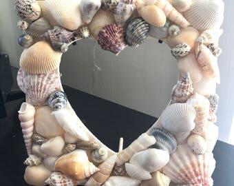 Heart shaped beach frame