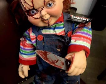 "MADE TO ORDER Talkative ""bride of chucky"" Chucky doll"