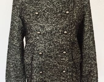 GÉRARD DAREL - Tweed double breasted jacket - size 40