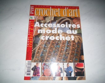 "Book ""Crochet d'art"" - Accessories, crochet fashion"