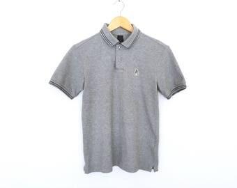 Keith Haring Embroidery Half Button Shirt Polo