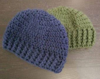 Kids Chrochet Hat, Boys Hat, Girls Hat, Adult Hat, Gift for Men