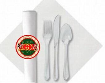 Additional Napkin Rolls for the  Inspired Dinnerware Packages | Designer Inspired