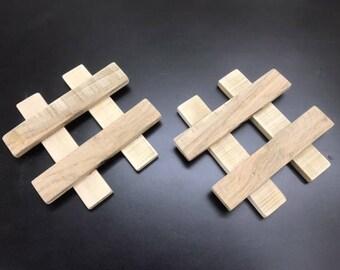 Wood Hot Pads
