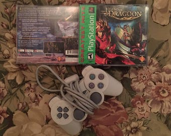 Legend of Dragoon GH (Sony PlayStation 1, 2001) CB Perfect Discs, Missing Manual