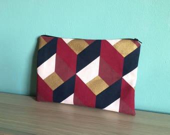 """Mini"" Nyhavn fabric wallet"