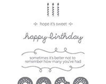 Stampin UP Sprinkles on Top Clear Block Rubber Stamp  Set