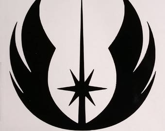 Star Wars Jedi Vinyl Decal