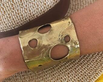 Handmade bronze bracelets