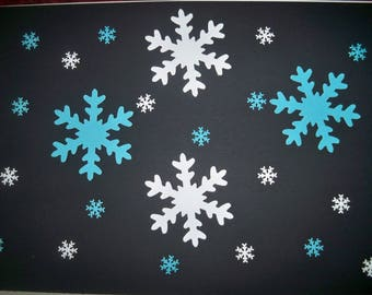 SCRAPBOOKING lot snowflake Punch