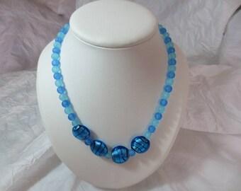 Ma necklace fancy beads.