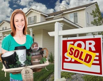 Realtor Closing Gift Basket - Luxury Housewarming Gift - Home Sweet Home