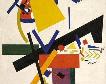 KAZIMIR MALEVICH - 'Suprematism' - original archival quality print (Curwen Press, London. Abstract art)