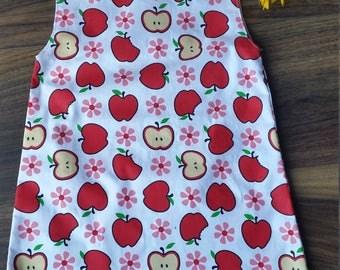 red apple's dress