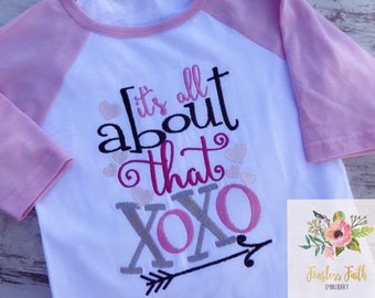 XOXO Valentine's Day Shirt / Embroidered Shirt / Valentine's Shirt / XOXO