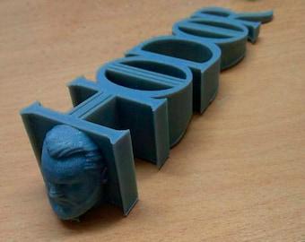 Hodor Stop 3D Printed | Hold the Door | Game of Thrones | GOT Original Gift