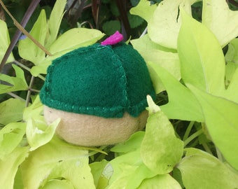 Mini Plush Acorns