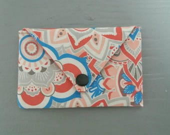 Wallet pattern mandala door card, envelope wallet