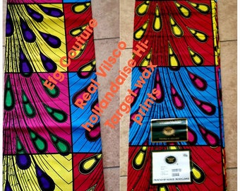 Ankara Vilsco Dutch hollandaise Wax print/ African print/