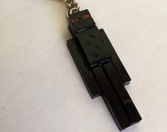 Minecraft Enderman Keychain!