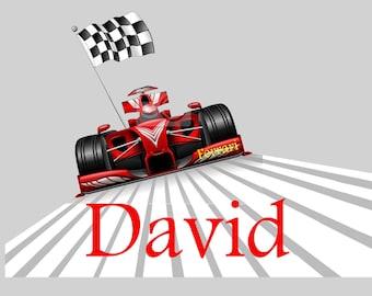 Formula 1 - choose name door plaque