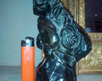 THE small bather. Signed, numbered, bronze foundry banks, artist Moeneclaey Philippe.