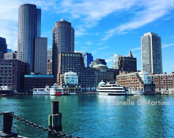 Boston Harbor | Boston, MA - FREE SHIPPING!