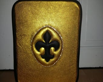 ChampagnerKoffer leather gold