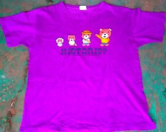 VTG Plevo Historic? Purple T shirt size Medium
