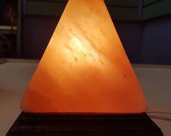 Himalayan Salt Lamp Pyramid Shape