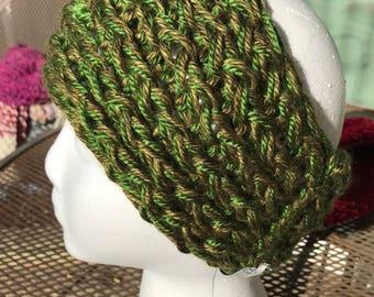 Handmade Knitted Headband / Ear Warmer - Item #4007