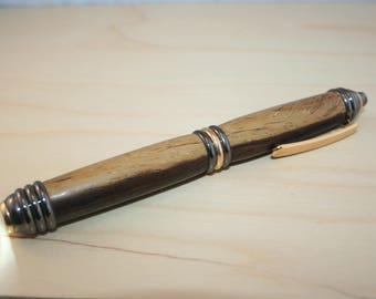 Ziricotte wood led flashlight