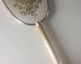 Vintage Handheld Dressing Table Mirror