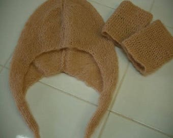 """Pixie"" hat with leggings"