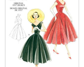 By Vogue V1172 retro vintage sewing pattern